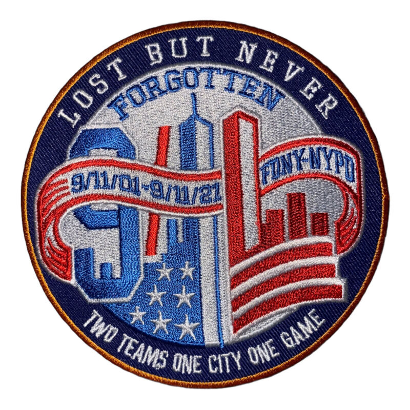 """911 AMERICAN FLAG Patch 9-11 Tribute patch 911 memorial patch iron on 3.5"""" X 3.5"""