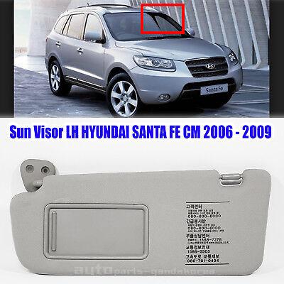 852102B511J4 Sun Visor Inside Left LH Gray HYUNDAI SANTA FE CM 2006-2009