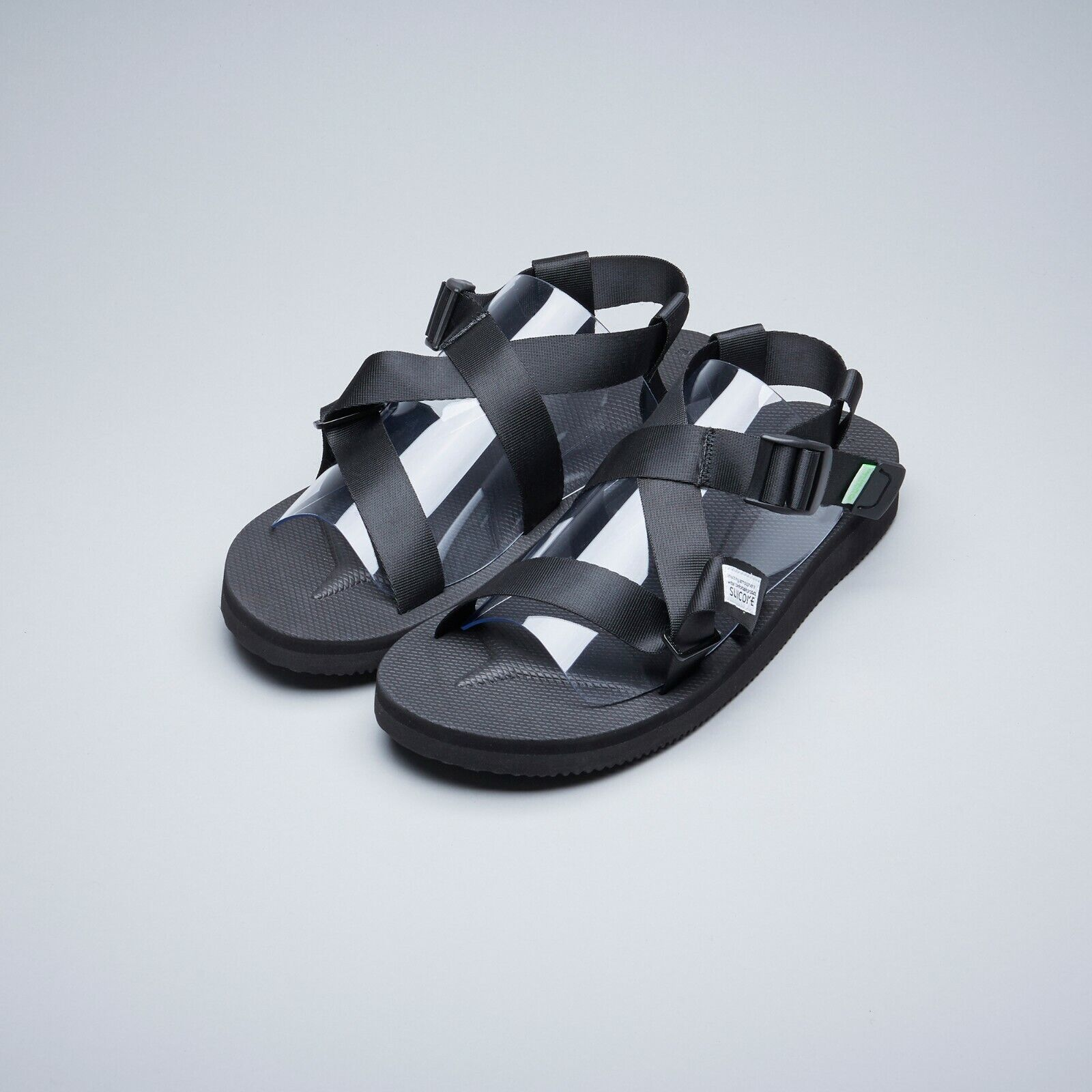 Suicoke SS19 OG-023-2Cab CHIN2-Cab White Nylon Tapes Antibacterial Sandals