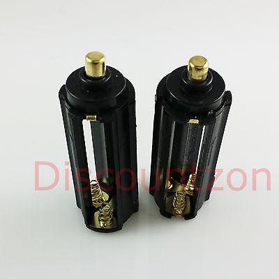2 1.2V/1.5V AAA Battery Pack holder to 3.7V 18650 Battery adapter/Converter Tube