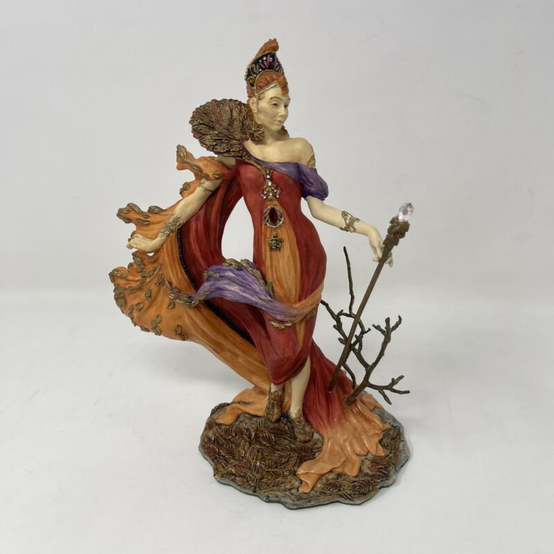 Enchantica EN2242 Quillion Autumn Witch Andrew Bill Statue