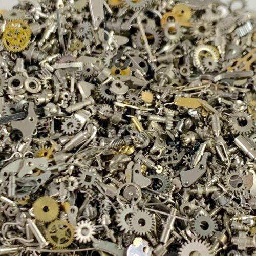 5 Grams Watch Parts Teeney Tiny Steampunk Gears Wheel Altered Art Watchmaker Lot
