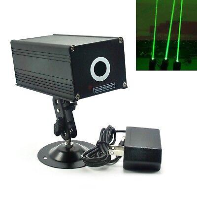 Visible Fat Beam 532nm 100mw Green Dot Laser Module 12v Adapter Holder Stage Bar