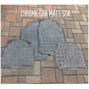 Chrome Car Mats.