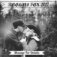 Wedding/ Engagement Photography- Booking now!