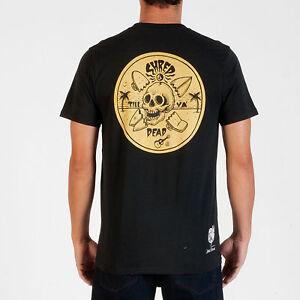VOLCOM-Jamie-Browne-FA-S-S-Mens-Organic-Tee-Shirt-M-Medium-NEW-NWT-Black-ma231