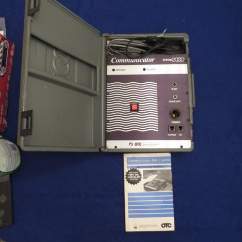 Vintage Otc System 2000 Model 3284 New? W/ Manual See Pics Mint!!!