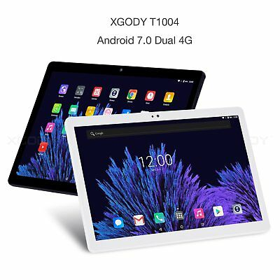 10.1'' FHD Android 7.0 Tablet PC Octa Core 2.1GHz 4G Dual SIM Phablet 32GB XGODY