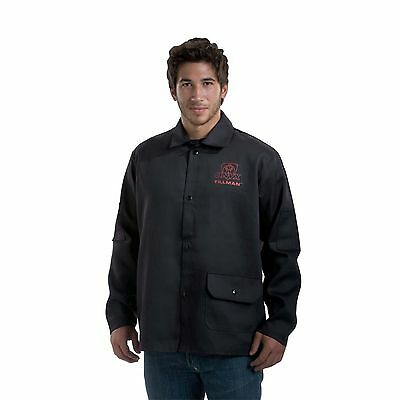 Tillman 9060 Black Onyx Light Duty Flame Retardant Cotton Jacket - L