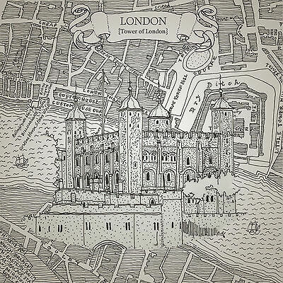 'TOWER OF LONDON' Limited Edition Print (numbered & signed by the artist)