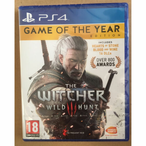 The Witcher 3 III Wild Hunt Game of the Year Edition (PS4) GOTY New and Sealed