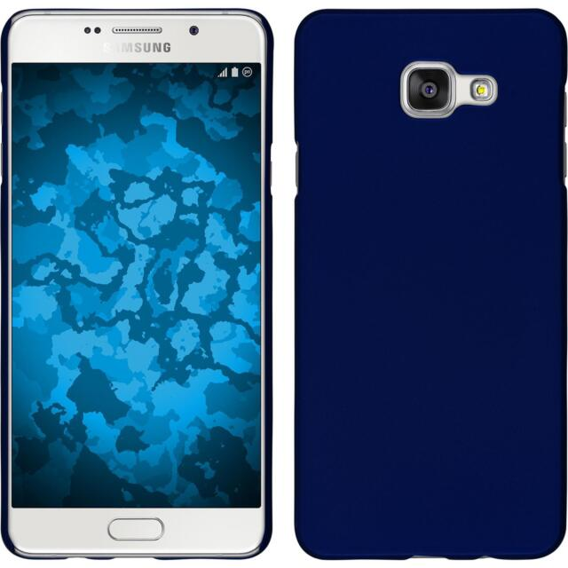 Hardcase for Samsung Galaxy A5 (2016) A510 rubberized blue