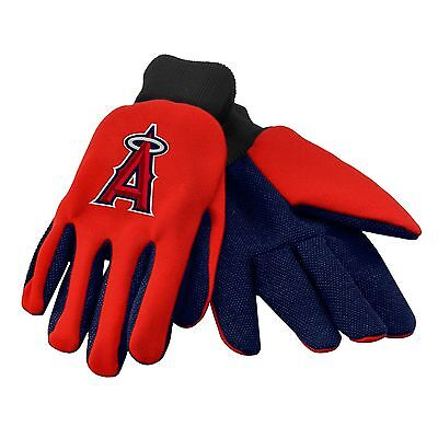 - LA Los Angeles Angels Gloves Sports Logo Utility Work Garden NEW Colored Palm