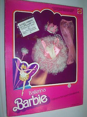 BARBIE BALLERINA FASHION ORIGINALS  OUTFIT  MATTEL 1975