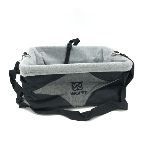 Wopet Car Seat Booster Travel Carrier Folding Bag for Dog Ca