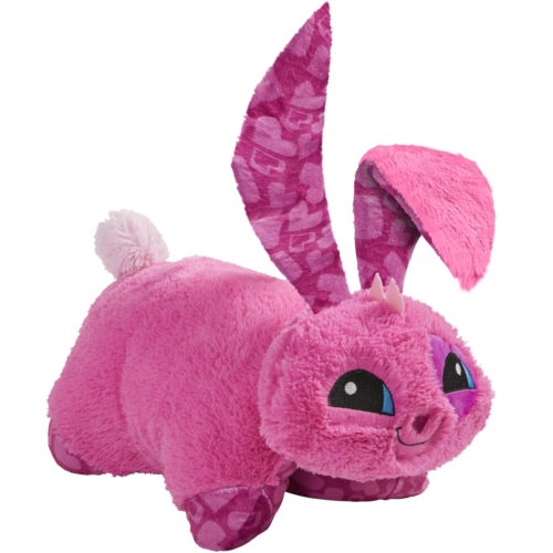 "Pillow Pets Animal Jam, Bunny, 16"" Super Soft Stuffed Animal"