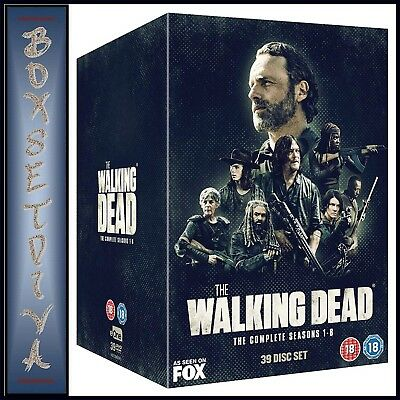 THE WALKING DEAD COMPLETE SEASONS 1 2 3 4 5 6 7 & 8 *BRAND NEW DVD BOXSET for sale  Shipping to Canada