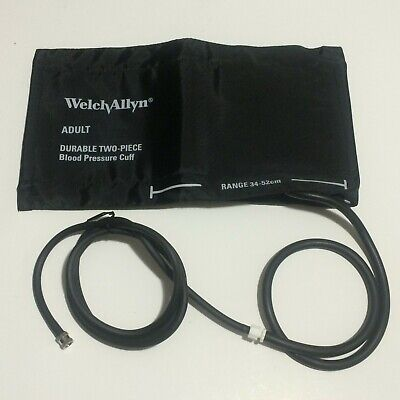 Welch Allyn Vital Signs Monitor Blood Pressure Bp Hose Adult Nylon Cuff