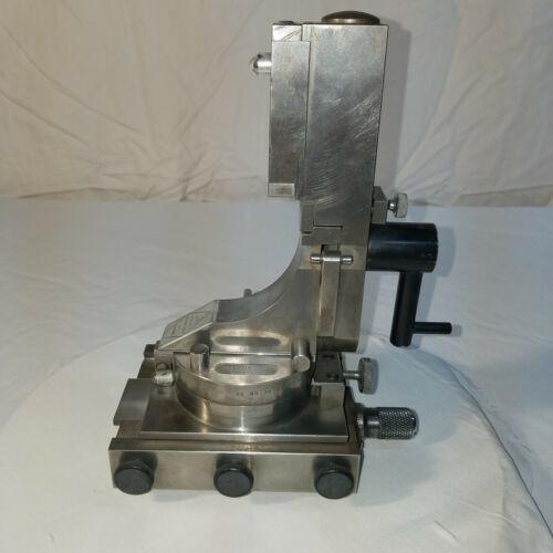 J & S Tool Company Fluid Motion Radii & Angle Wheel Dresser With Case.
