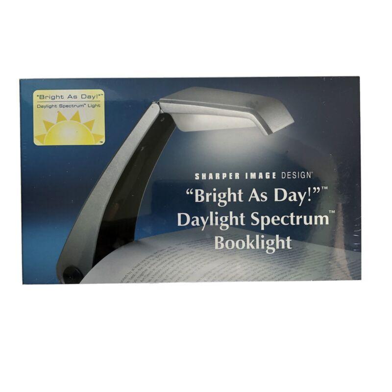 "Sharper Image Design ""Bright As Day"" Daylight Spectrum BookLight Sealed"