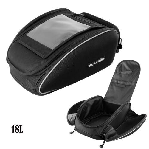 1X Magnetic Motorcycle Motorbike Oil Fuel Tank Bag Waterproof Helmet Saddlebag