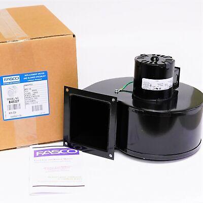 Fasco B45227 Centrifugal Blower Assembly 265 Cfm 115 Volt Single Speed 1570 Rpm