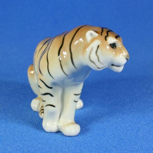 Tiger Lomonosov Porcelain Figurine Russia IFZ