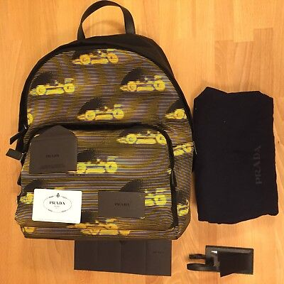 PRADA Nylon Backpack! New with Tags! Formula 1 Design! Only £699!!!