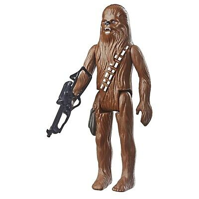 "Star Wars Retro Collection 2019 Chewbacca 3.75"" Action Figure LOOSE & COMPLETE"