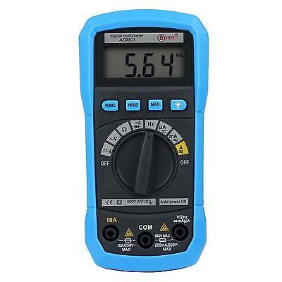 Aidetek Adm01 Auto Range Multimeter Ohm Ac Dc Buzz Freq Backlight Vs Fluke Acdc