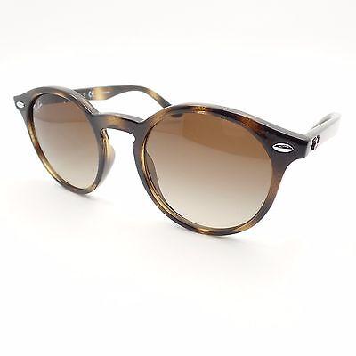 Ray Ban Kids 9064 152/13 Shiny Havana Brown Fade Sunglasses (Ray Ban Shiny Havana)
