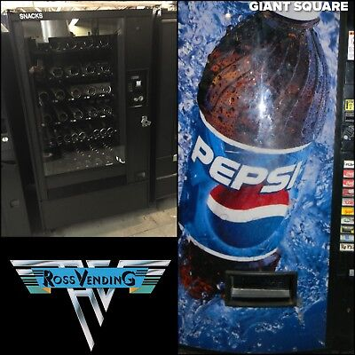 Vendo 540 Cold Drink Bottle Can Ap 123 Snackshop Vending Machine Bundle