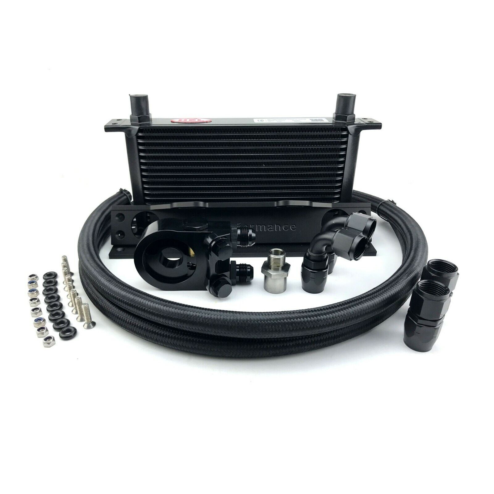 HEL Performance Oil Cooler Kit for Nissan Skyline R34 GTR Models [HOCK-NIS-006]