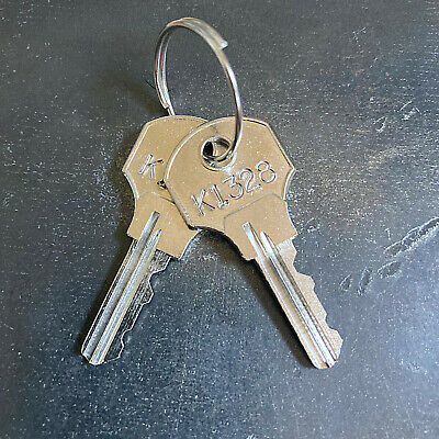 2 Kennedy Tool Box Replacement Keys From Key Code K1200 - K1449 -free Tracking