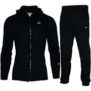 Mens Black Nike Tracksuit
