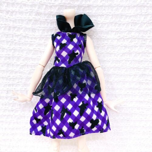 Ever After High Enchanted Picnic Raven Queen Replacement Dress Purple Black  - $2.99