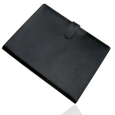 A4 Executive Conference Folder Pu Leather Business Portfolio Organiser Case