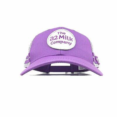 The A2 Milk Company PolyMesh Trucker Hat Cap Snapback Mens Size Cotton Nylon
