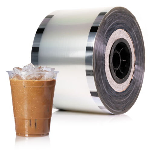 Cup Sealer Film Boba Bubble Tea Clear Sealing PP 3275 cups @ 90mm-105mm