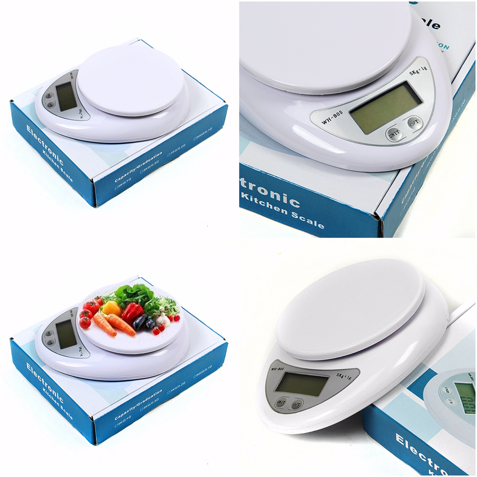 Weight Scale Digital LCD Electronic Kitchen Cooking Food Weighing Scales Best