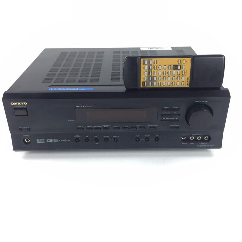 Onkyo 6.1 Dolby Pro Logic II DTS NEO Surround 600 Watt Receiver Model HT-R510