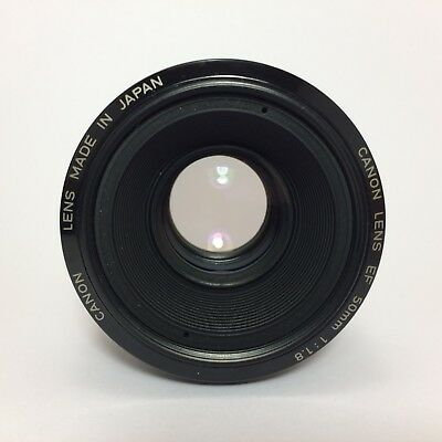Canon EF 50mm 1.8 Lens Made In Japan