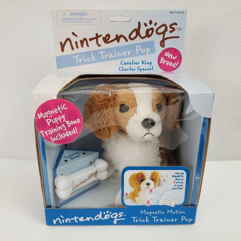 NEW Nintendo Nintendogs Trick Trainer Pup Cavalier King Charles Spaniel 2007