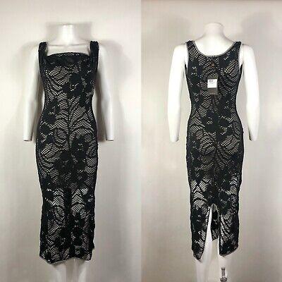 Rare Vtg Vivienne Westwood Anglomania Black Dress XS