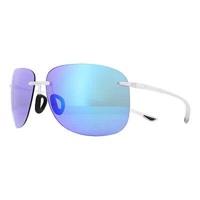 Maui Jim Gafas de Sol Hikina B445-05CM Cristal Mate Azul Hawaii Polarizado