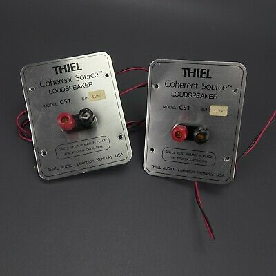 Used, 2 (Pair) Thiel CS1 Speaker Terminal Posts Made in USA  for sale  Shipping to South Africa