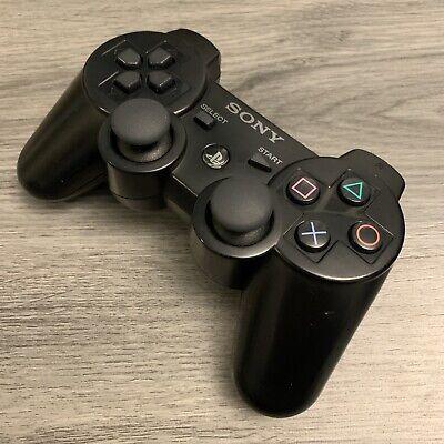 Sony PS3 DualShock 3 Sixaxis Controller - OEM Original - Black - Refurbished