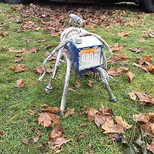 Paint sprayer for parts