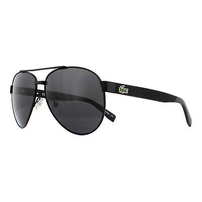 Lacoste Sunglasses L185S 001 Matte Black Grey