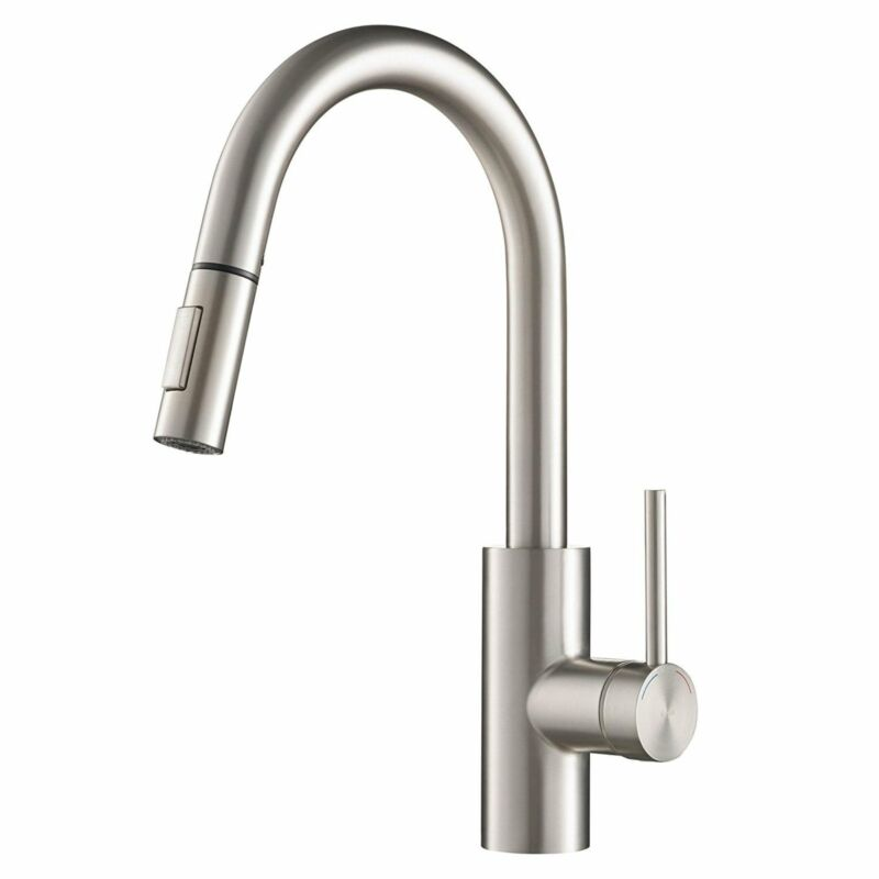Kraus KPF-2620 Oletto 1-Handle 2-Function Pulldown Kitchen Spot Free Stainless S